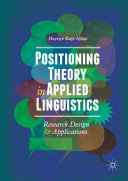 Positioning Theory in Applied Linguistics Book