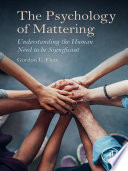The Psychology Of Mattering