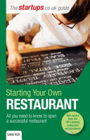 Starting Your Own Restaurant