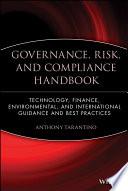 Governance  Risk  and Compliance Handbook