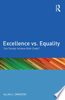 Excellence vs  Equality