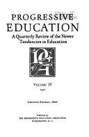Book Progressive Education