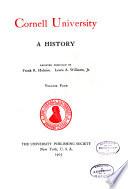 Cornell University  a history