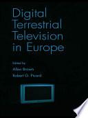 Digital Terrestrial Television in Europe
