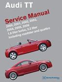Audi Tt Service Manual 2000 2001 2002 2003 2004 2005 2006