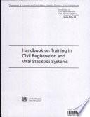 Handbook on Training in Civil Registration and Vital Statistics Systems