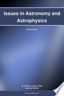 Issues In Astronomy And Astrophysics 2012 Edition book