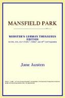 Mansfield Park  Webster s German Thesaurus Edition