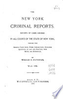 New York Criminal Reports