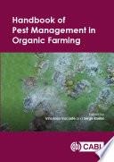 Handbook of Pest Management in Organic Farming Pest Management In Organic Farming In Major