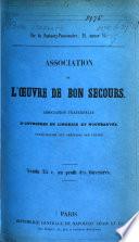 Association fraternelle d'Ouvrières en Lingerie et Nouveautés. Participation aux bénéfices des ventes