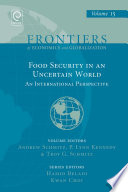 Food Security In An Uncertain World