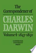 The Correspondence of Charles Darwin  1847 1850