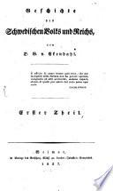 Geschichte des schwedischen Volks und Reichs
