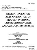Proceedings of the     Spring Technical Conference of the ASME Internal Combustion Engine Division