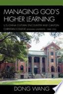Managing God s Higher Learning