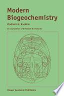 Modern Biogeochemistry