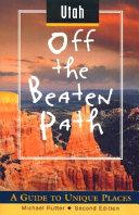 Utah Off the Beaten Path Book PDF