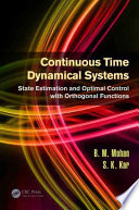 Continuous Time Dynamical Systems