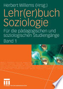 Lehr Er Buch Soziologie
