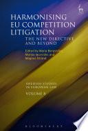 Harmonising EU Competition Litigation