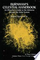 Burnham s Celestial Handbook  Volume Three