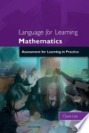 Language For Learning Mathematics  Assessment For Learning In Practice