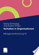 Verhalten in Organisationen