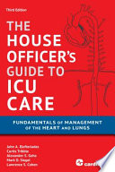 House Officer s Guide to ICU Care