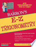 Barron s E Z Trigonometry