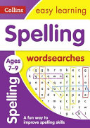 Spelling Word Searches Ages 7 9