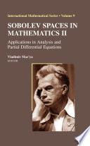 Sobolev Spaces In Mathematics Ii book