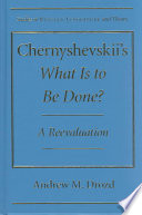 Chernyshevskii S What Is To Be Done