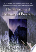 The Multicultural Dictionary Of Proverbs