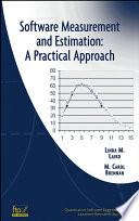 Software Measurement and Estimation