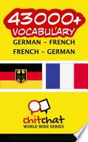 43000+ German - French French - German Vocabulary