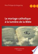 illustration Le mariage catholique à la lumière de la Bible