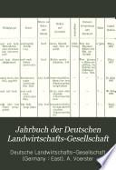 Jahrbuch der Deutschen Landwirtschafts-Gesellschaft