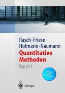 Quantitative Methoden. 1. [Statistikbegleitheft 1. Semester]
