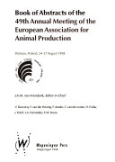 Book of Abstracts of the 49th Annual Meeting of the European Association for Animal Production
