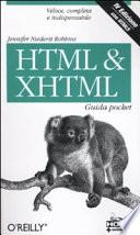 HTML   XHTML  Guida pocket