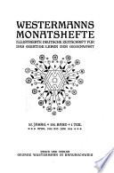 Westermanns Monatshefte
