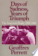 Days Of Sadness Years Of Triumph