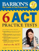 Barron s 6 ACT Practice Tests