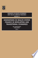 Innovations In Health Care Financing In Low And Middle Income Countries