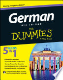German All in One For Dummies  with CD