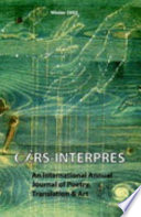 Ars Interpres: An International Journal of Poetry, Translation and Art: No. 1