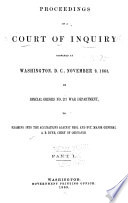 Proceedings of a Court of Inquiry Convened at Washington  D C   November 9  1868 by Special Orders No  217 War Department  to Examine Into the Accusations Against Brigadier and Brevet Major General A B  Dyer  Chief of Ordnance Book PDF