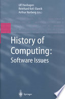 History of Computing  Software Issues