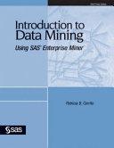 Ebook Introduction to Data Mining Using SAS Enterprise Miner Epub Patricia B. Cerrito Apps Read Mobile